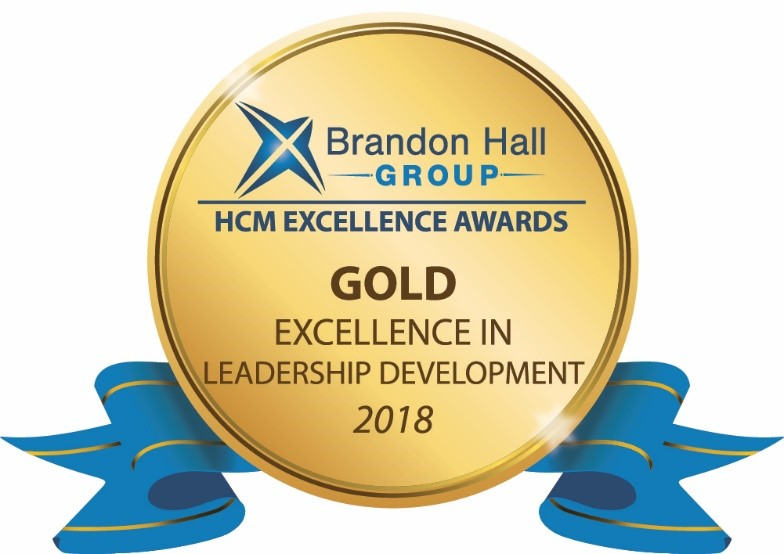 2018 Brandon Hall Group Human Capital Management Excellence award